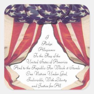 Pledge of Allegiance Stickers