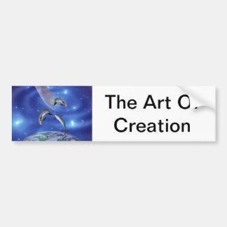 Pleiades Art of Creation Bumper Sticker