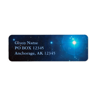 Pleiades Avery Label Return Address Label