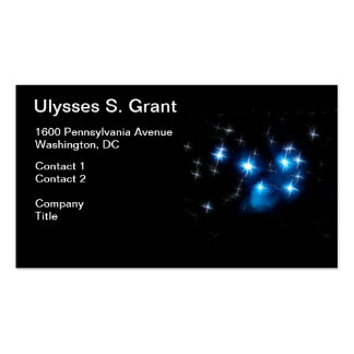 Pleiades Blue Star Cluster Pack Of Standard Business Cards