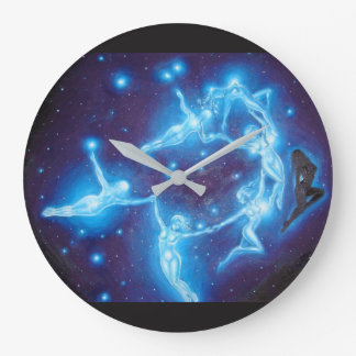Pleiades Large Clock