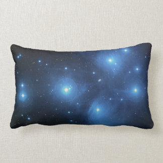 Pleiades or The Seven Sisters M45 Lumbar Pillow