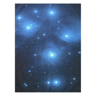 Pleiades or The Seven Sisters M45 Tablecloth