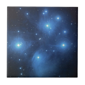 Pleiades or The Seven Sisters M45 Tile