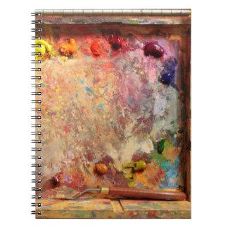 Plein Air Painting Artist's Palette Journal