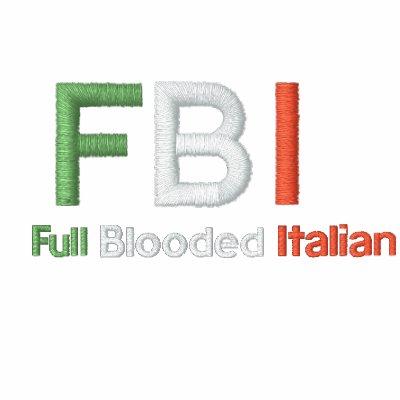 Plein Blooded polo blanc italien de FBI