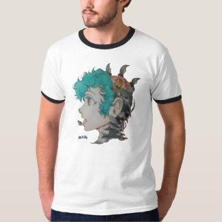 Plein T-shirt de sonnerie de la métropole   en