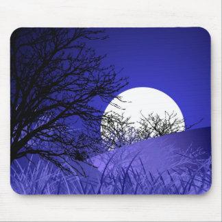 Pleine lune Mousepad Tapis De Souris