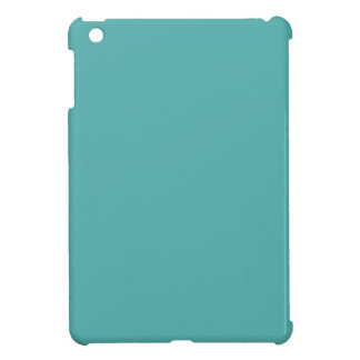 Plentifully Wealthy Turquoise Blue Color iPad Mini Cases