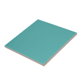 Plentifully Wealthy Turquoise Blue Color Tile