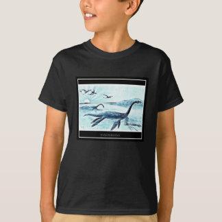 Plesiosaurus Kids T-Shirt - Dark (Medium)