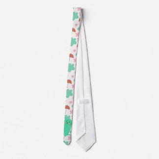 Pleuvoir des chats cravates personnalisables