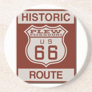 Plew Route 66 Beverage Coasters