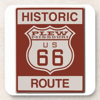 Plew Route 66 Drink Coasters