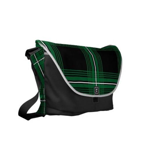 Plexus (Green) Messenger Bag