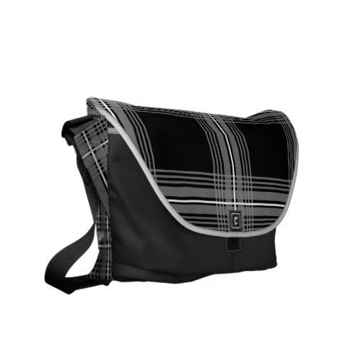 Plexus (Grey) Messenger Bag