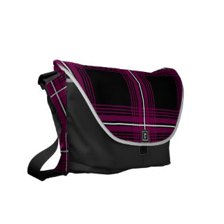 Plexus (Red-Violet) Messenger Bag