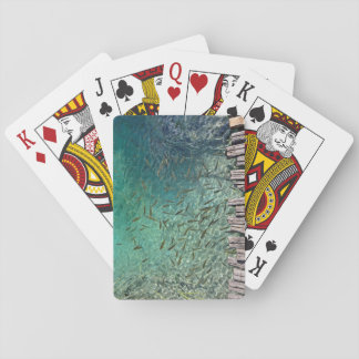 Plitvice Fish Playing Cards