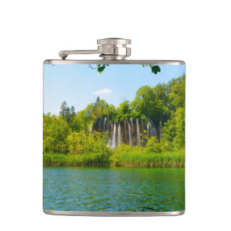 Plitvice Lakes National Park in Croatia Flasks
