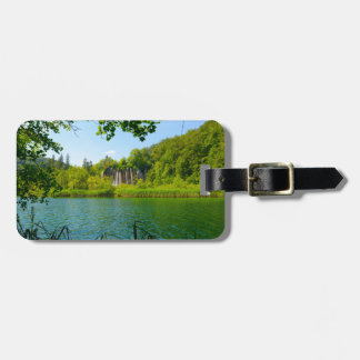 Plitvice Lakes National Park in Croatia Luggage Tag