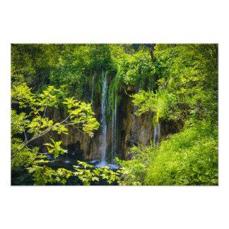 Plitvice Lakes National Park in Croatia Photo Print