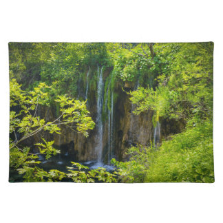 Plitvice Lakes National Park in Croatia Placemat