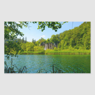 Plitvice Lakes National Park in Croatia Sticker