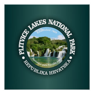 Plitvice Lakes NP Poster