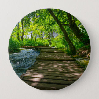 Plitvice National Park in Croatia 4 Inch Round Button