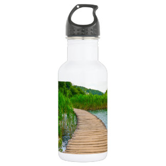 Plitvice National Park in Croatia Hiking Trails 532 Ml Water Bottle