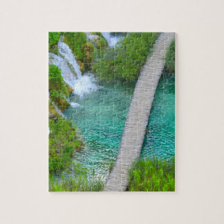 Plitvice National Park in Croatia Hiking Trails Puzzle