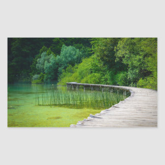 Plitvice National Park in Croatia Hiking Trails Sticker
