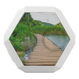 Plitvice National Park in Croatia Hiking Trails White Bluetooth Speaker