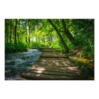 Plitvice National Park in Croatia Photo Print