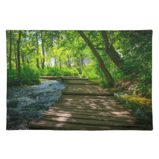 Plitvice National Park in Croatia Placemat