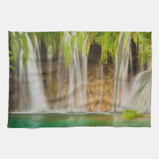 Plitvice Waterfall Kitchen Towel