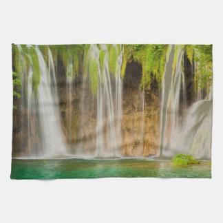 Plitvice Waterfall Kitchen Towels