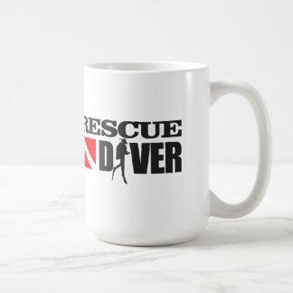 Plongeur 2 de délivrance mug blanc
