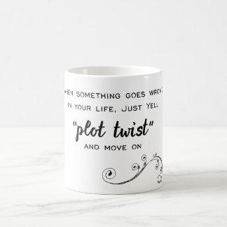 Plot Twist Coffee Mug