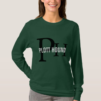 Plott Hound Breed Monogram T-Shirt