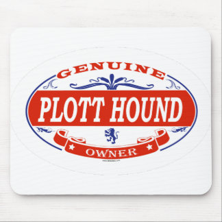 Plott Hound  Mouse Pad