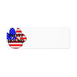 plott name usa-flag paw