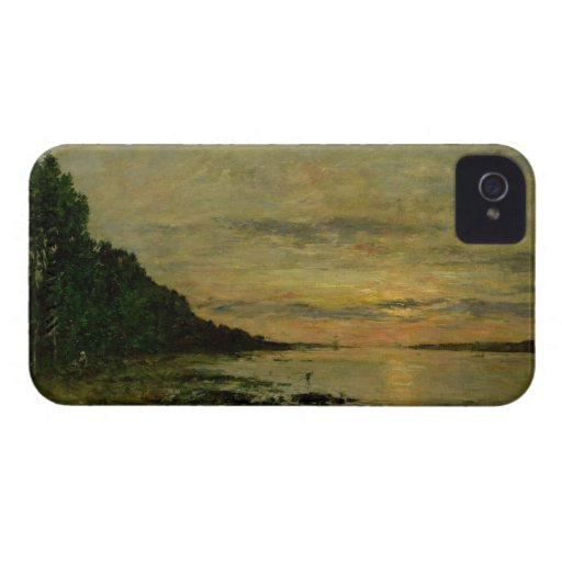 Plougastel-Daoulas, c.1870-73 (oil on canvas) iPhone 4 Case-Mate Cases