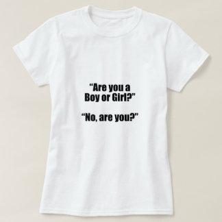 Plough does You the Boy or Girl? T-Shirt