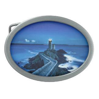 Plouzane, France - Lighthouse Belt Buckle