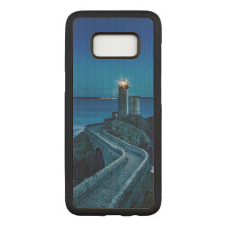 Plouzane, France, Lighthouse Carved Samsung Galaxy S8 Case