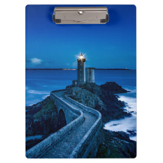Plouzane, France, Lighthouse Clipboard