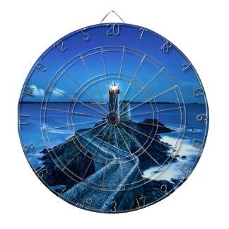 Plouzane, France - Lighthouse Dartboard