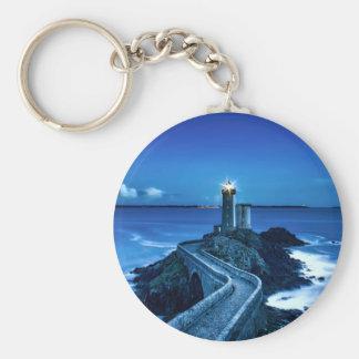 Plouzane, France - Lighthouse Keychain
