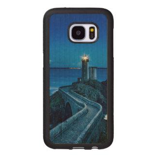 Plouzane, France, Lighthouse Wood Samsung Galaxy S7 Case